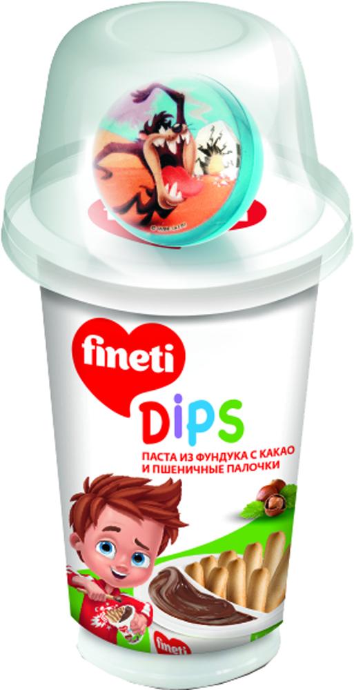 Десерты Fineti Из фундука с какао и пшеничные палочки 45 г nutella паста ореховая с добавлением какао 3 кг