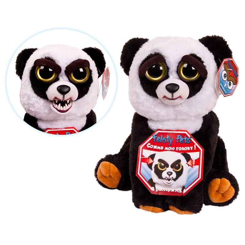 Мягкие игрушки Feisty Pets Мягкая игрушка Feisty Pets «Панда» top pets store 315202