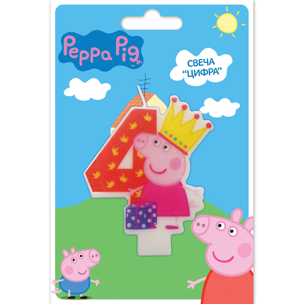 Peppa Pig Peppa Pig Peppa Pig Цифра 4 peppa pig find the hat sticker book