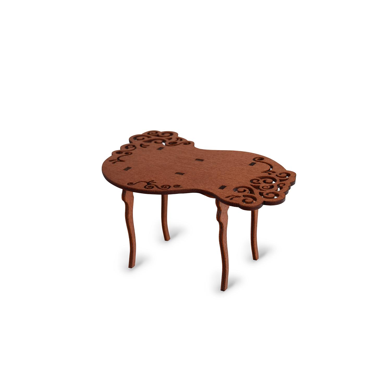 Мебель для кукол ЯиГрушка Стол резной 55 018барабан джембе резной гана 100 см