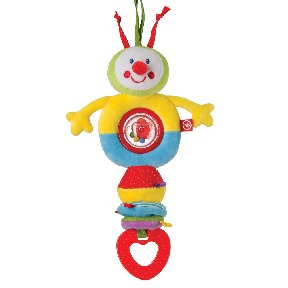 Погремушка Happy baby Talky Caterpillar игрушка трансформер happy baby гусеница