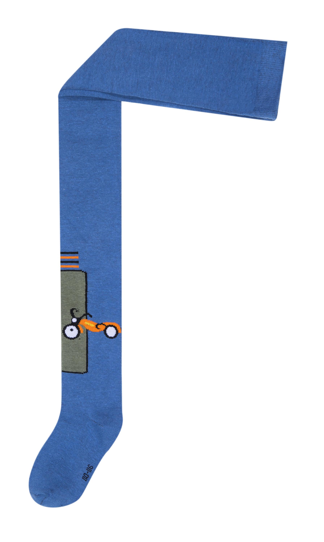 Колготки для мальчика Barkito Синие брюки для мальчика barkito джинсы деним синие