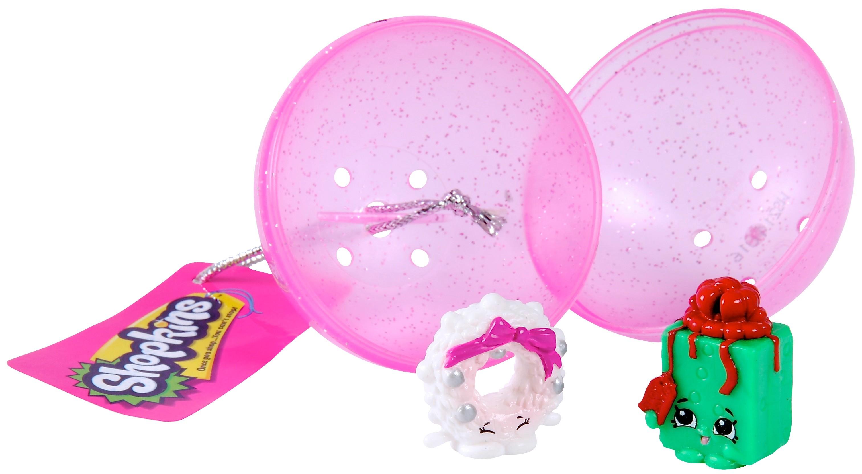Игровой набор Shopkins две фигурки в елочном шаре