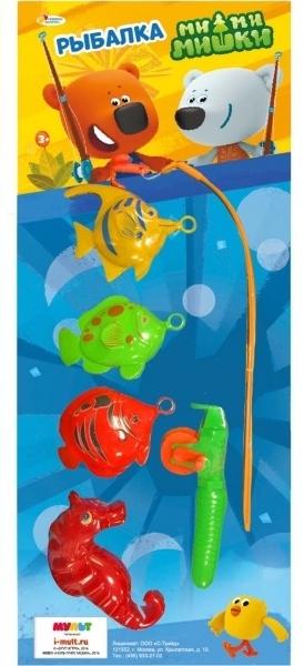 все цены на Игрушки для ванны Играем вместе Игра Играем вместе «Рыбалка Мимимишки» 3 рыбы и морской конек онлайн