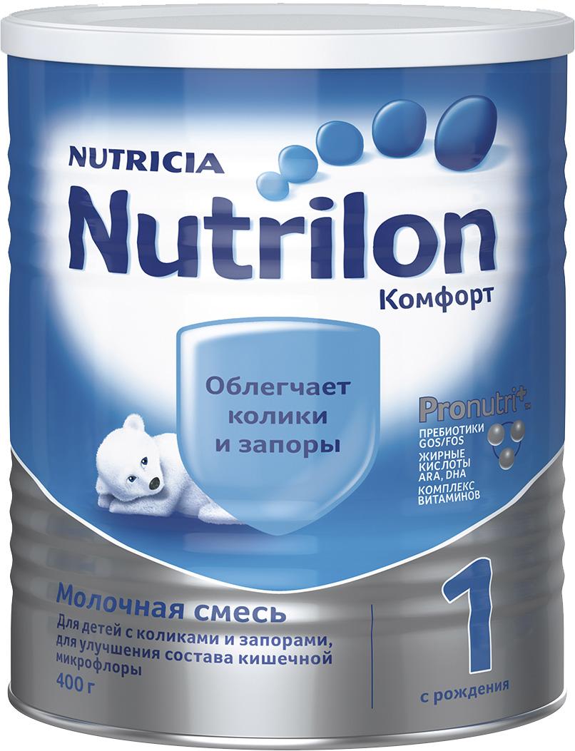 Молочная смесь Nutricia Nutrilon (Nutricia) 1 Комфорт (c рождения) 400 г молочная смесь nutricia nutrilon nutricia 1 premium c рождения 400 г