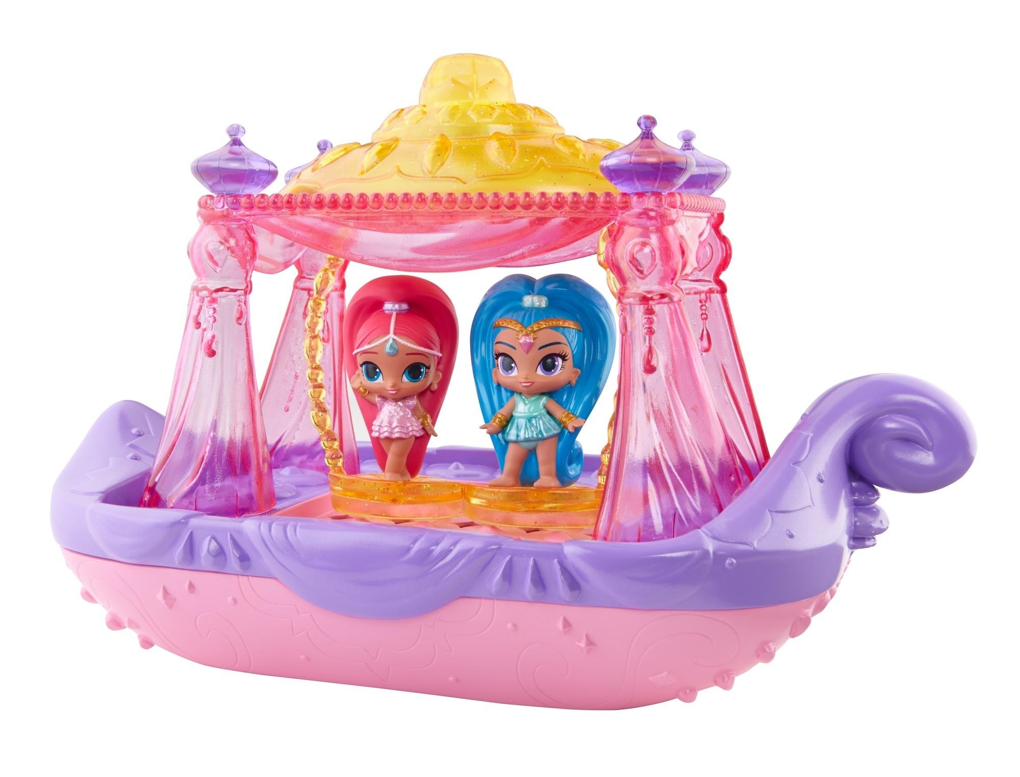 Игровой набор Mattel Волшебная лодочка для джинников