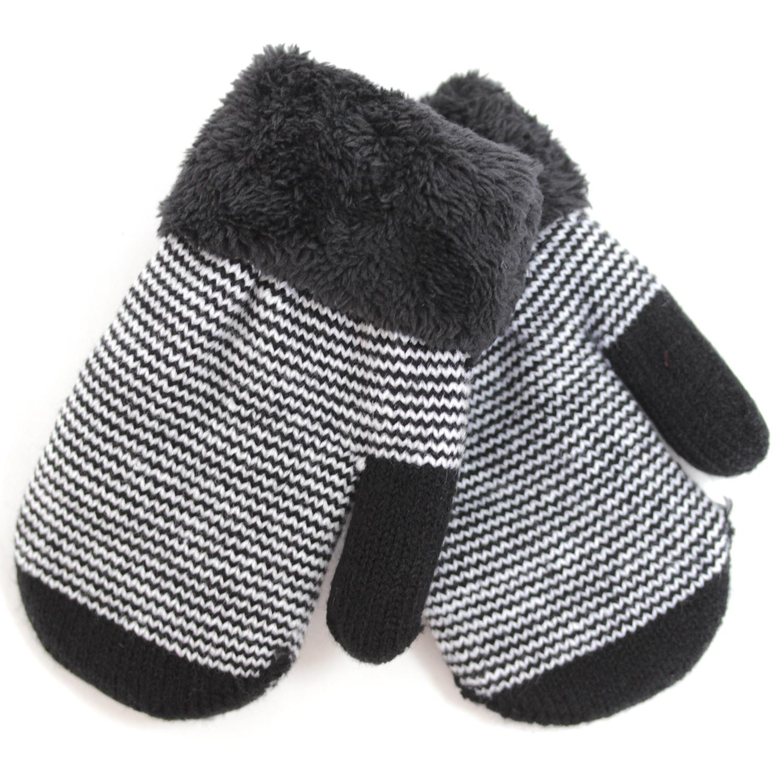 варежки перчатки и шарфы elodie details варежки 103224 103219 Варежки и перчатки Принчипесса Варежки для мальчика Принчипесса, черно-белые