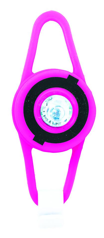 Купить Фонари для велосипедов, 522-110, 1шт., Globber 522-110, Китай, pink