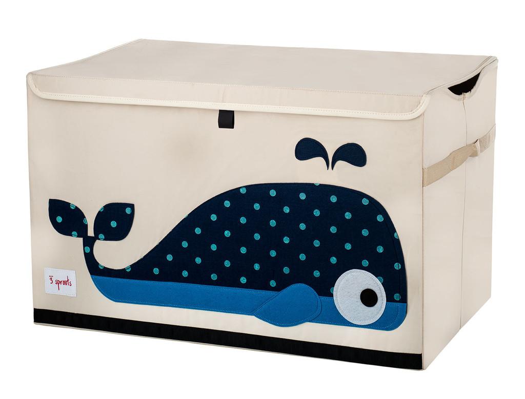 Ящики и корзины для игрушек 3 Sprouts Blue Whale ящики и корзины для игрушек 3 sprouts orange orangutan