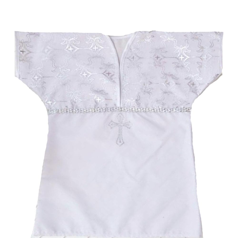 Крестильная рубашка АРГО, белая Арго 043