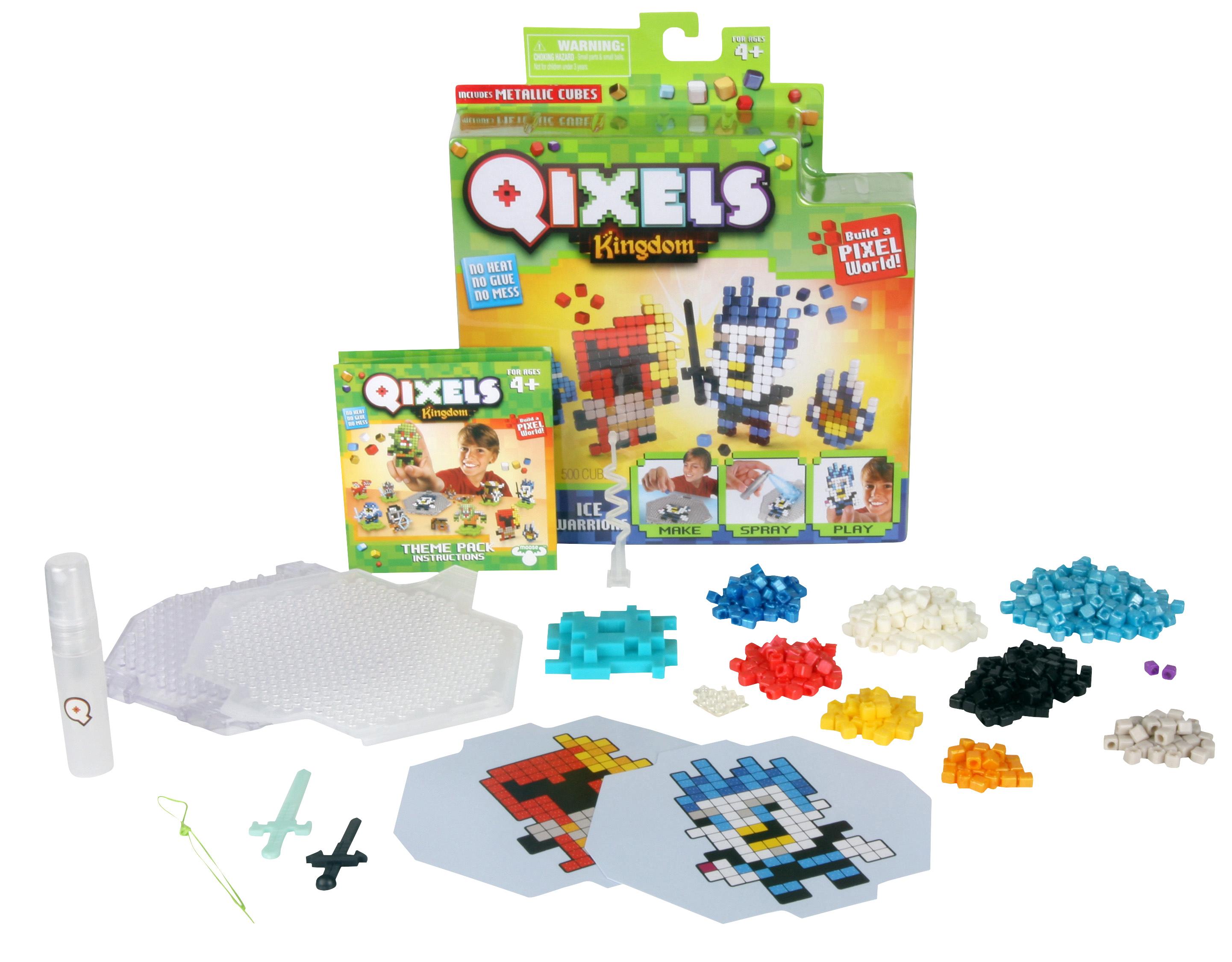 Наборы для творчества Qixels Набор для творчества Qixels «Ледяные воины» набор для творчества qixels ледяные воины