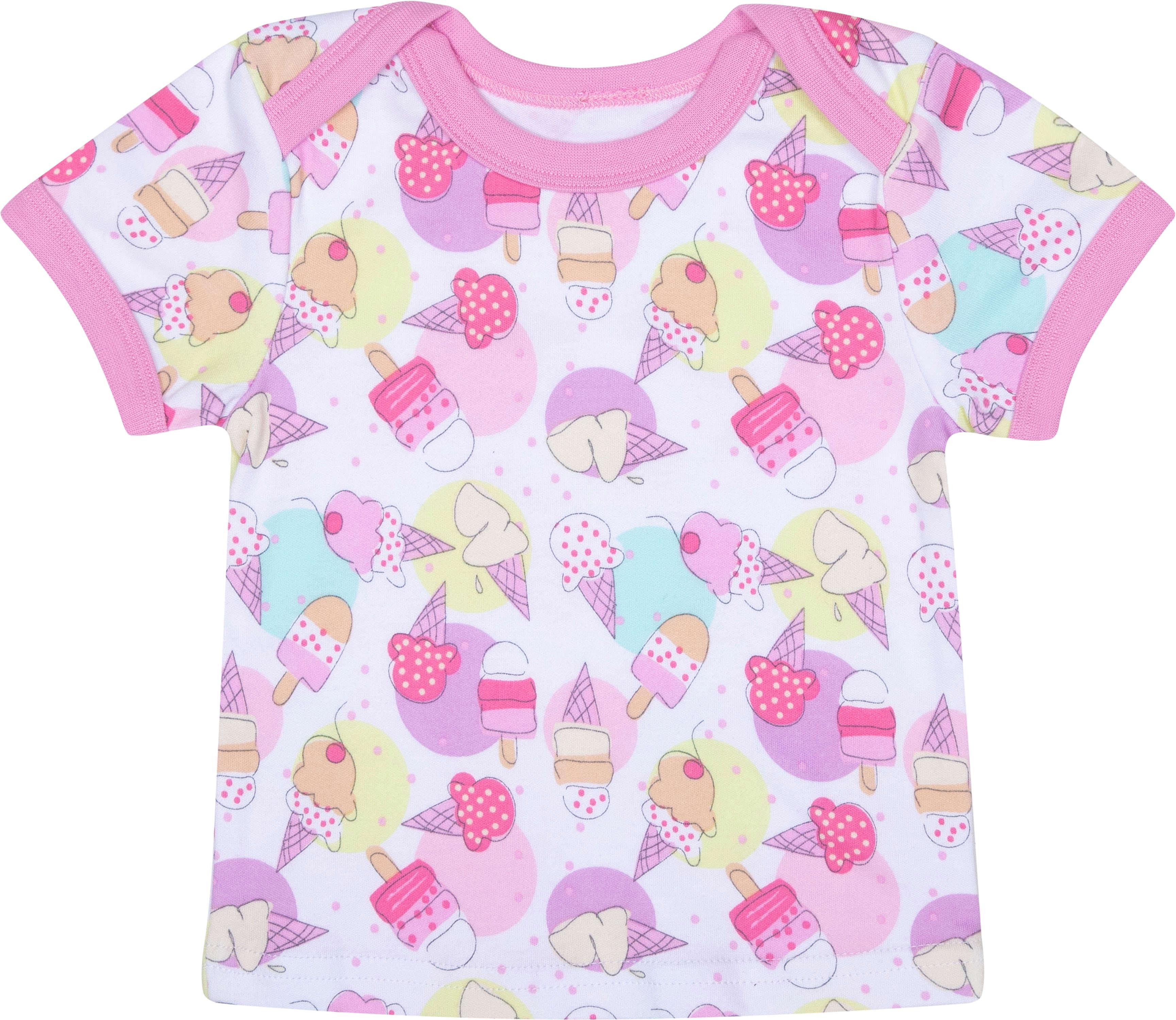 цена Первые вещи новорожденного Barkito Маленькие сладости белая с рисунком