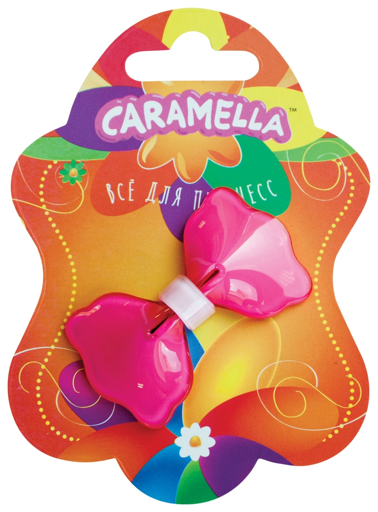 Украшения CARAMELLA Заколка для волос Caramella «Бантик» розовый заколка для волос caramella бантик ярко розовые 2 шт