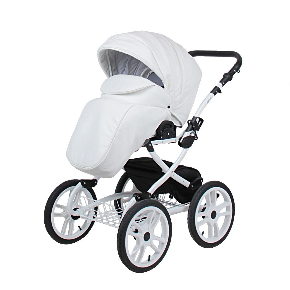 Классическая коляска 2 в 1 Indigo Indigo 18 Special Plus белый