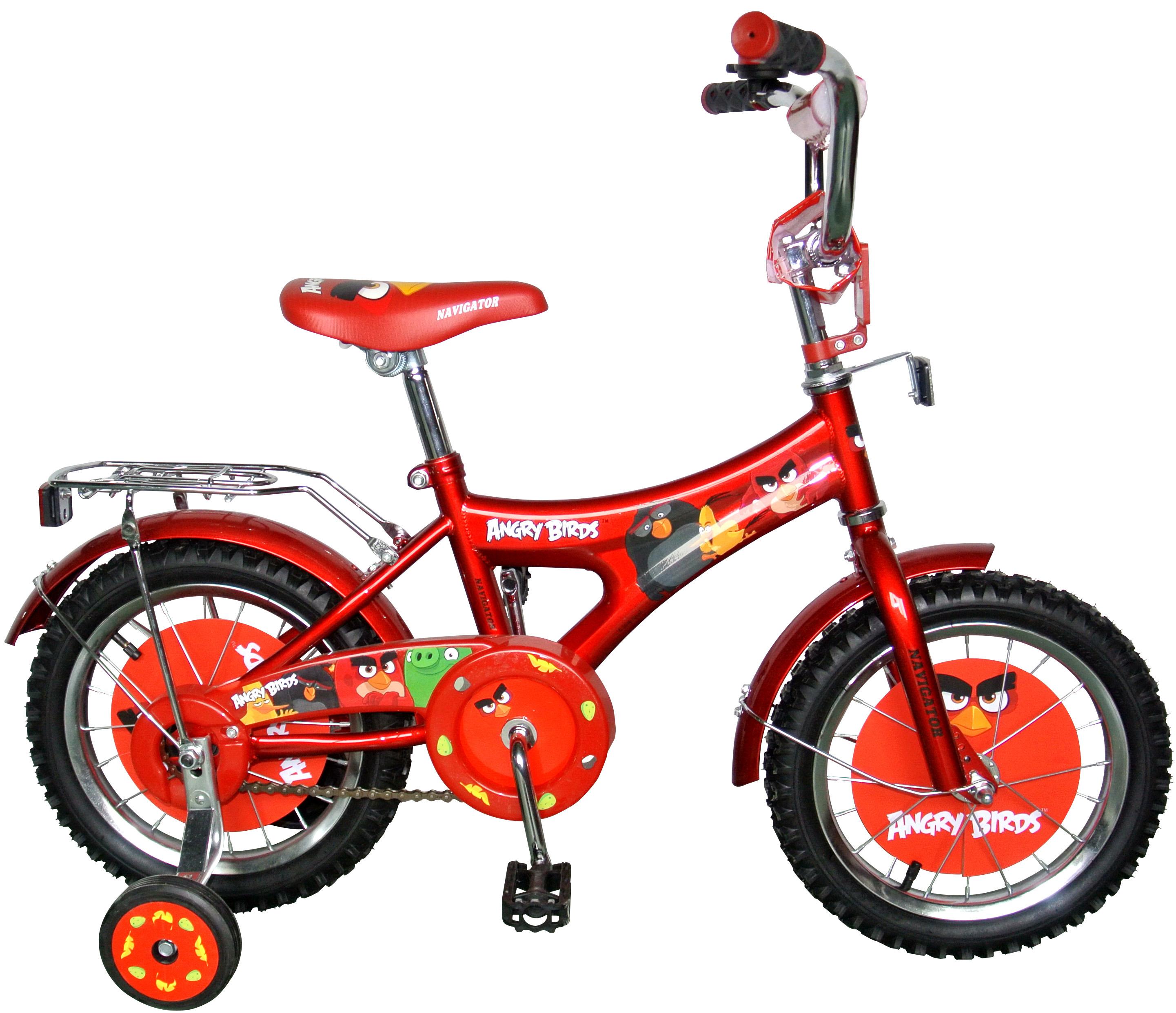 Велосипеды двухколесные Navigator Angry Birds (ВН14155)