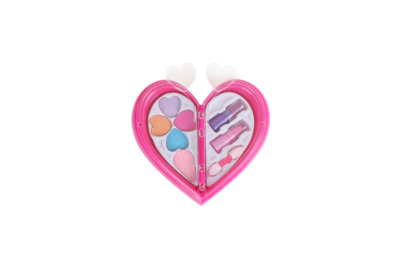 Набор детской декоративной косметики Beauty Angel Сердечко, мини-набор набор детской косметики nomi beauty box 5