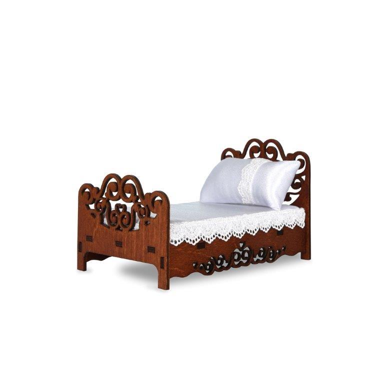 Мебель для кукол ЯиГрушка Спальня яигрушка мебель для кукол стол и два стула