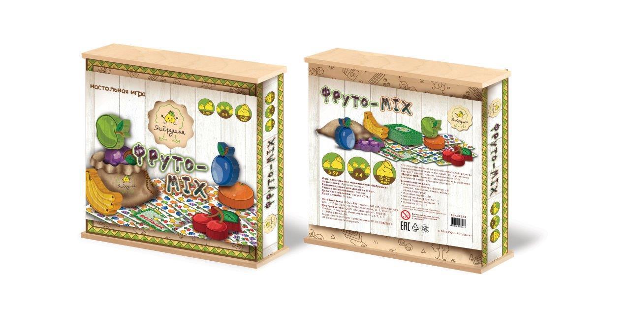 Настольная игра ЯиГрушка Фруто-MIX настольная игра яигрушка словариум 59810