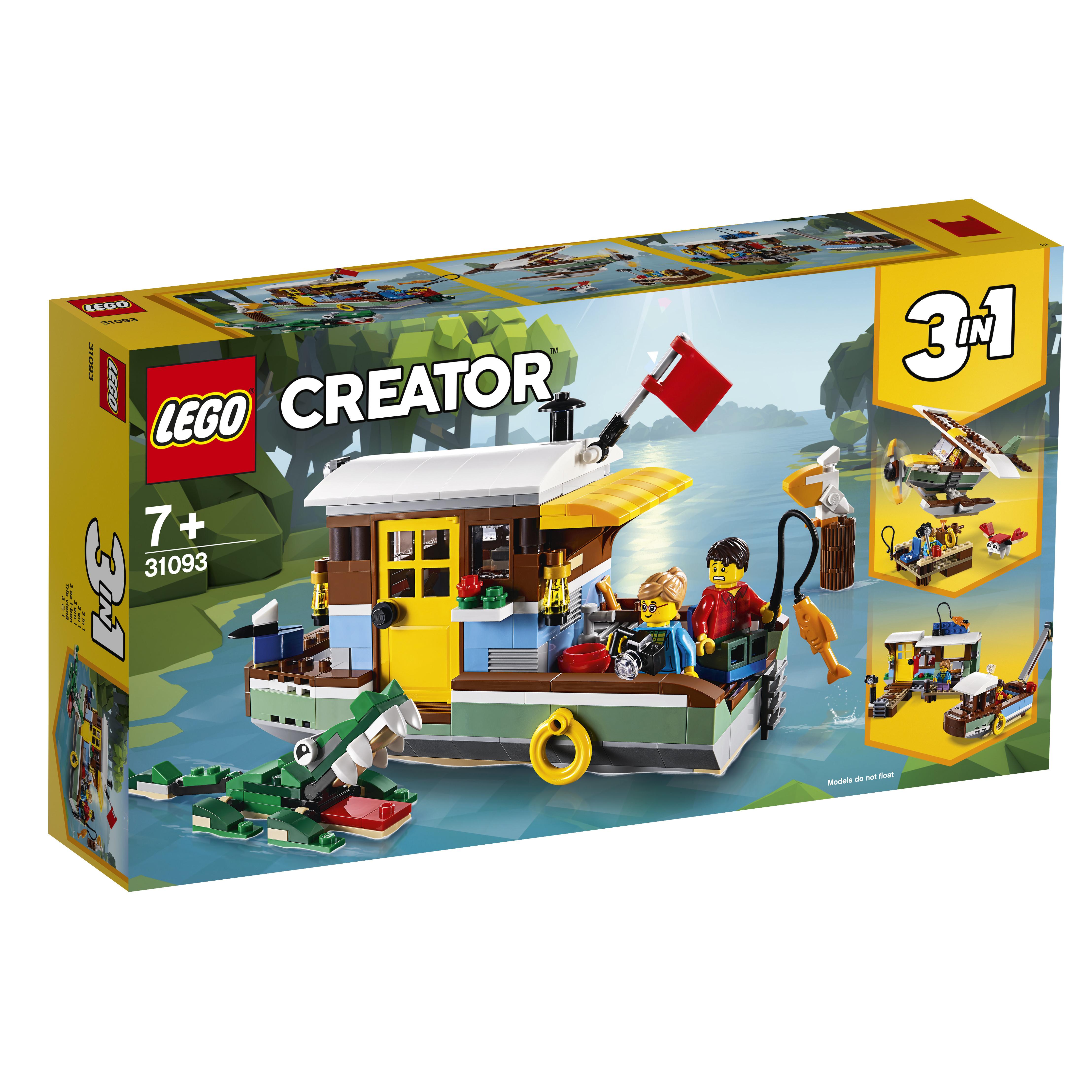 Конструктор LEGO LEGO Creator 31093 Плавучий дом цена