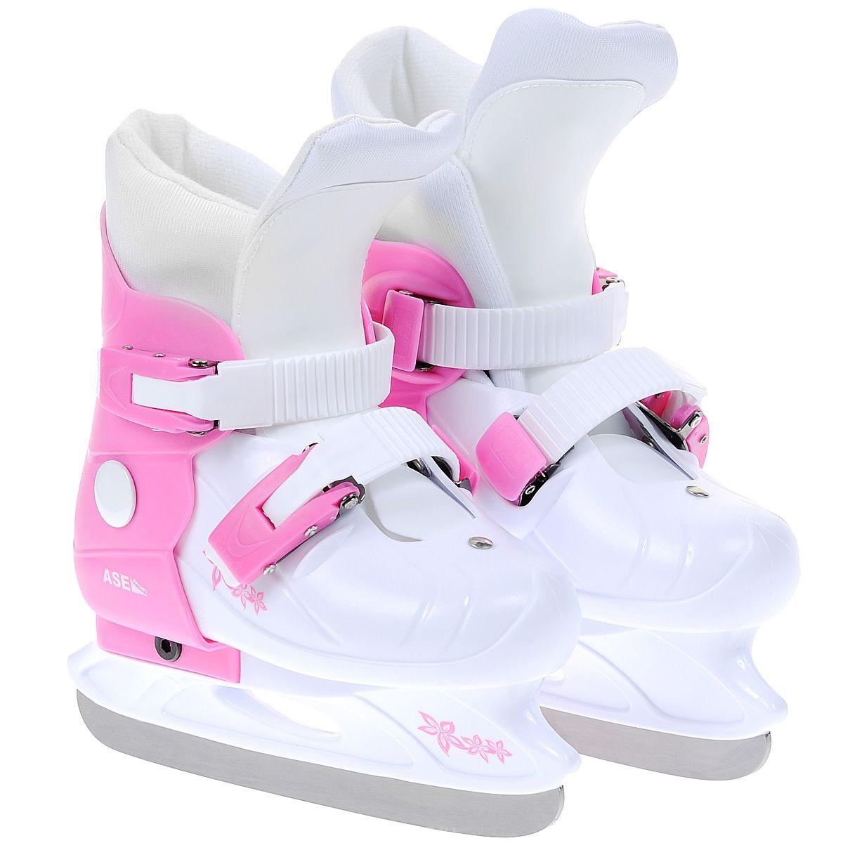 Коньки раздвижные ASE-SPORT Ase-Sport р.XS (29-32) коньки хоккейные раздвижные ase sport ase 211f цвет белый розовый размер 34 37