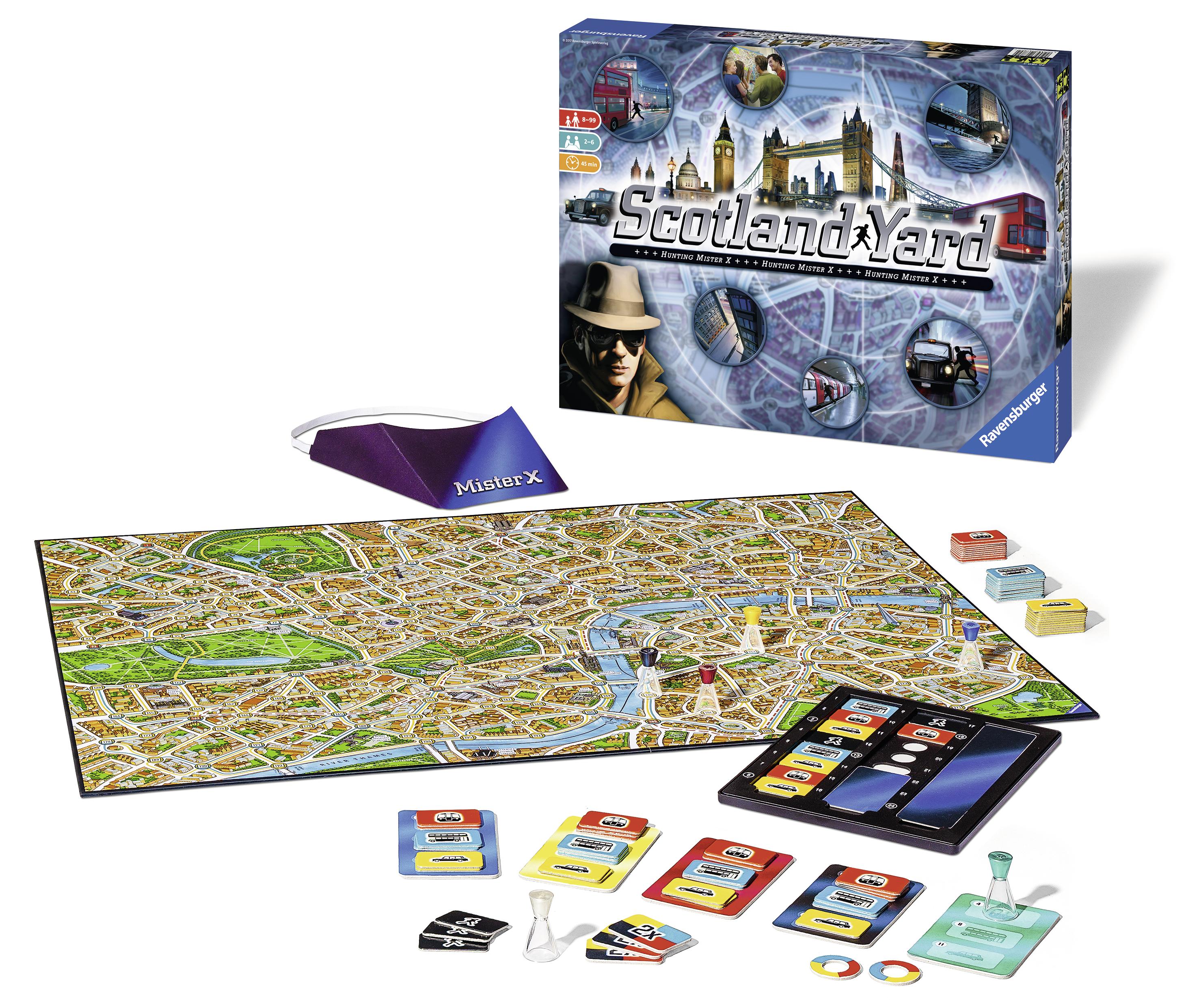 Развлекательные игры Ravensburger Настольная игра Ravensburger «Скотланд Ярд»