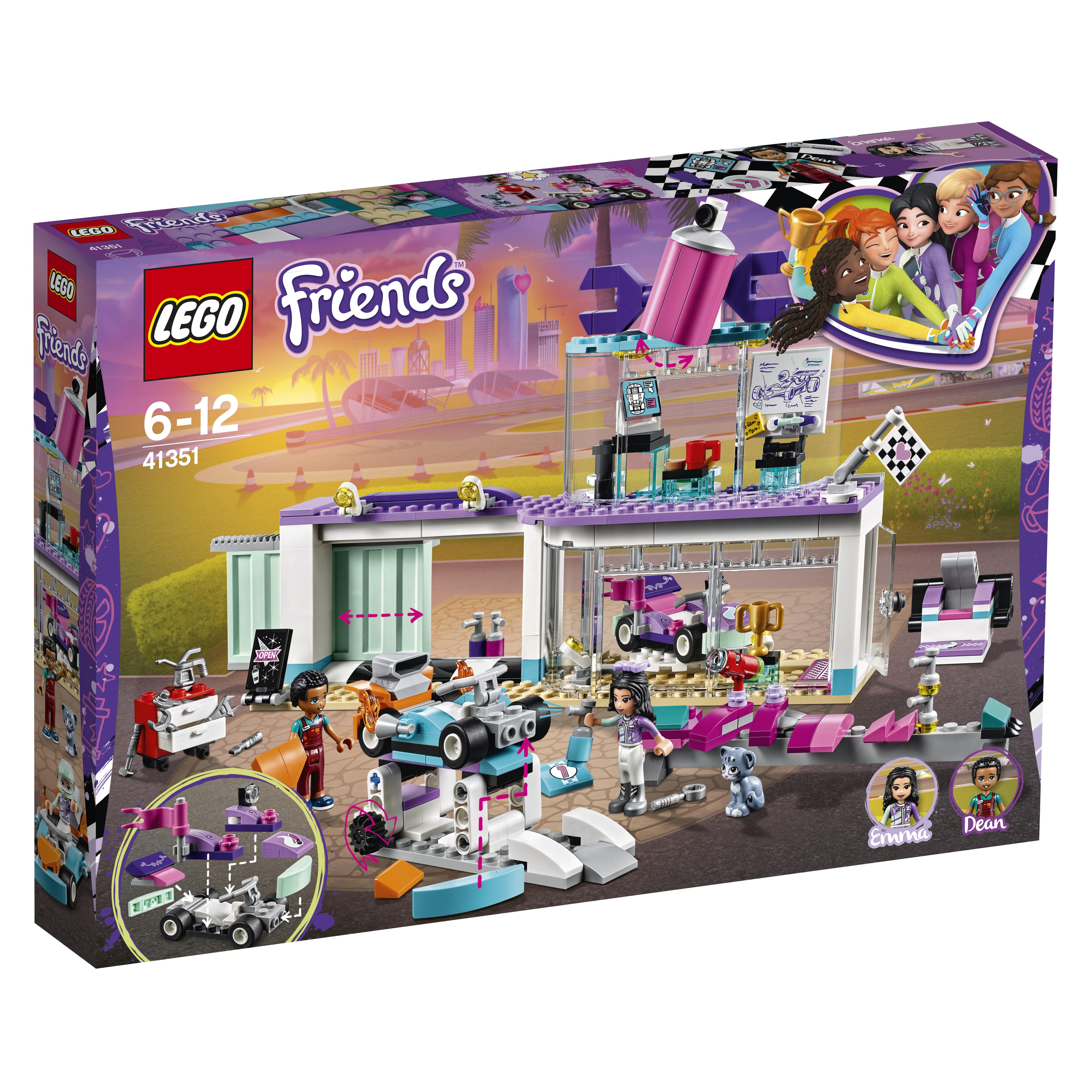 LEGO LEGO Конструктор LEGO Friends 41351 Мастерская по тюнингу автомобилей конструктор lego friends огород 561507