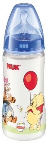 Бутылочка для кормления NUK First Choice Disney с силиконовой соской 0+, 300 мл. бутылочка для кормления nuk first choice plus с силиконовой соской м 0 150 мл в ассортименте
