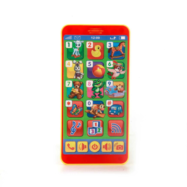 Развивающие игрушки Умка Игровой планшет Умка «Музыкальный телефон: Стихи А.Барто» сенсорный