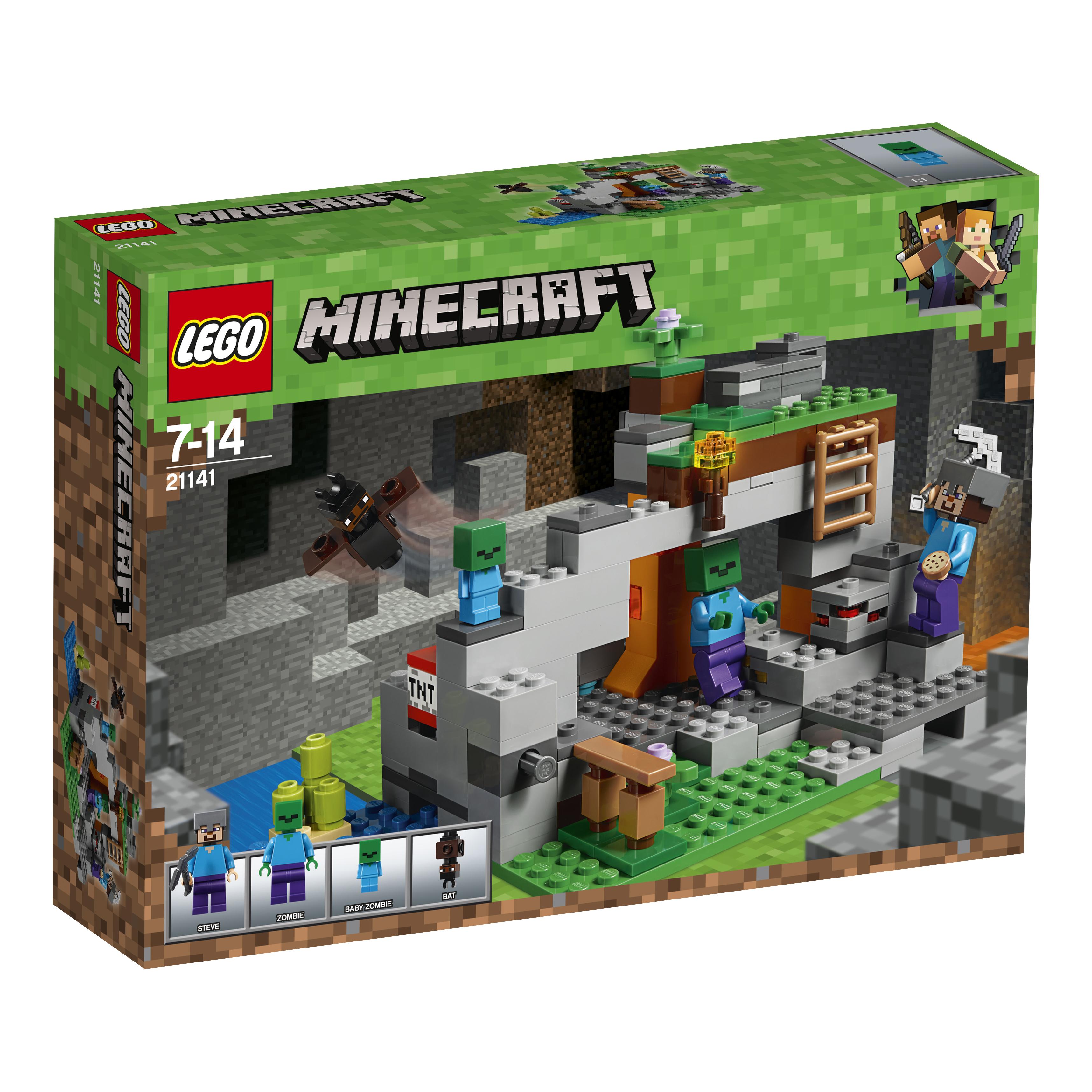 LEGO LEGO Minecraft 21141 Пещера зомби.