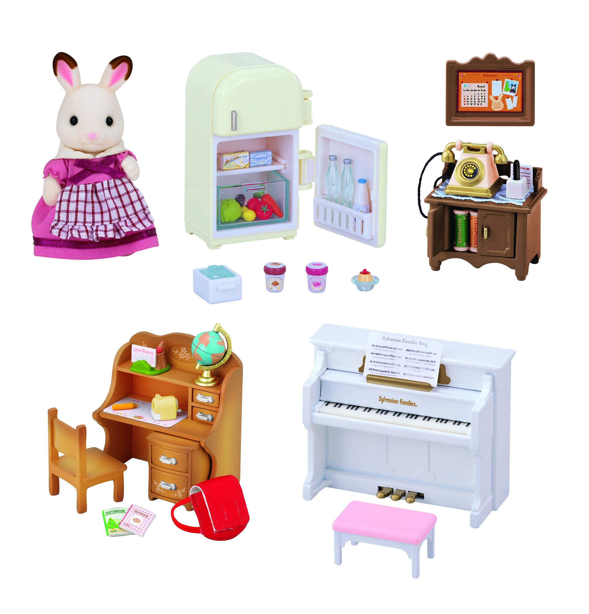 Игровой набор SYLVANIAN FAMILIES Мебель для дома Марии набор мебель для дома марии sylvanian families