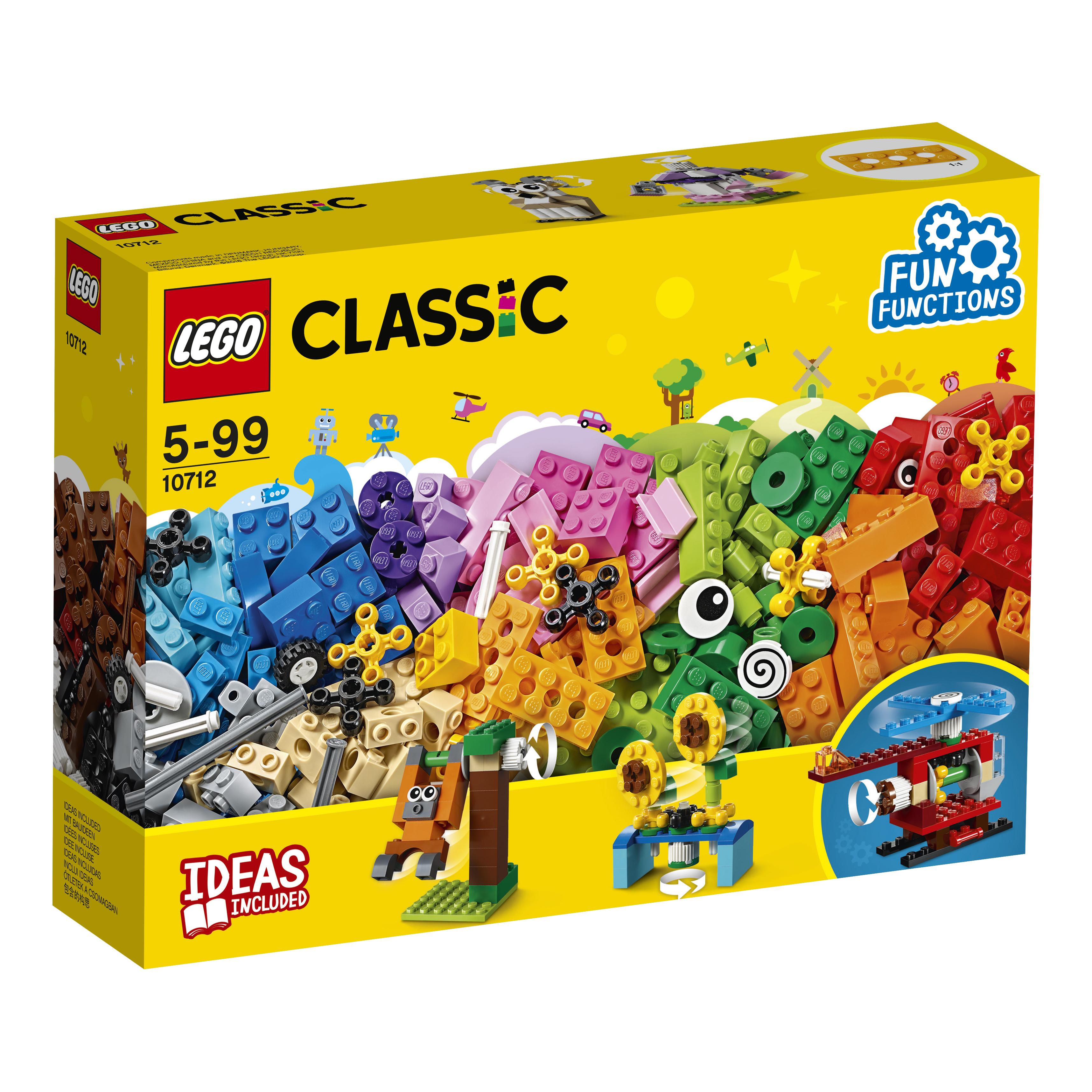 Конструктор LEGO Classic 10712 Кубики и механизмы конструктор lego lego 42057 конструктор сверхлёгкий вертолёт