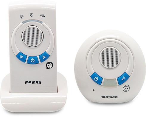 Купить Радио и видеоняни, Maman (Маман) RD-2810, Китай, white