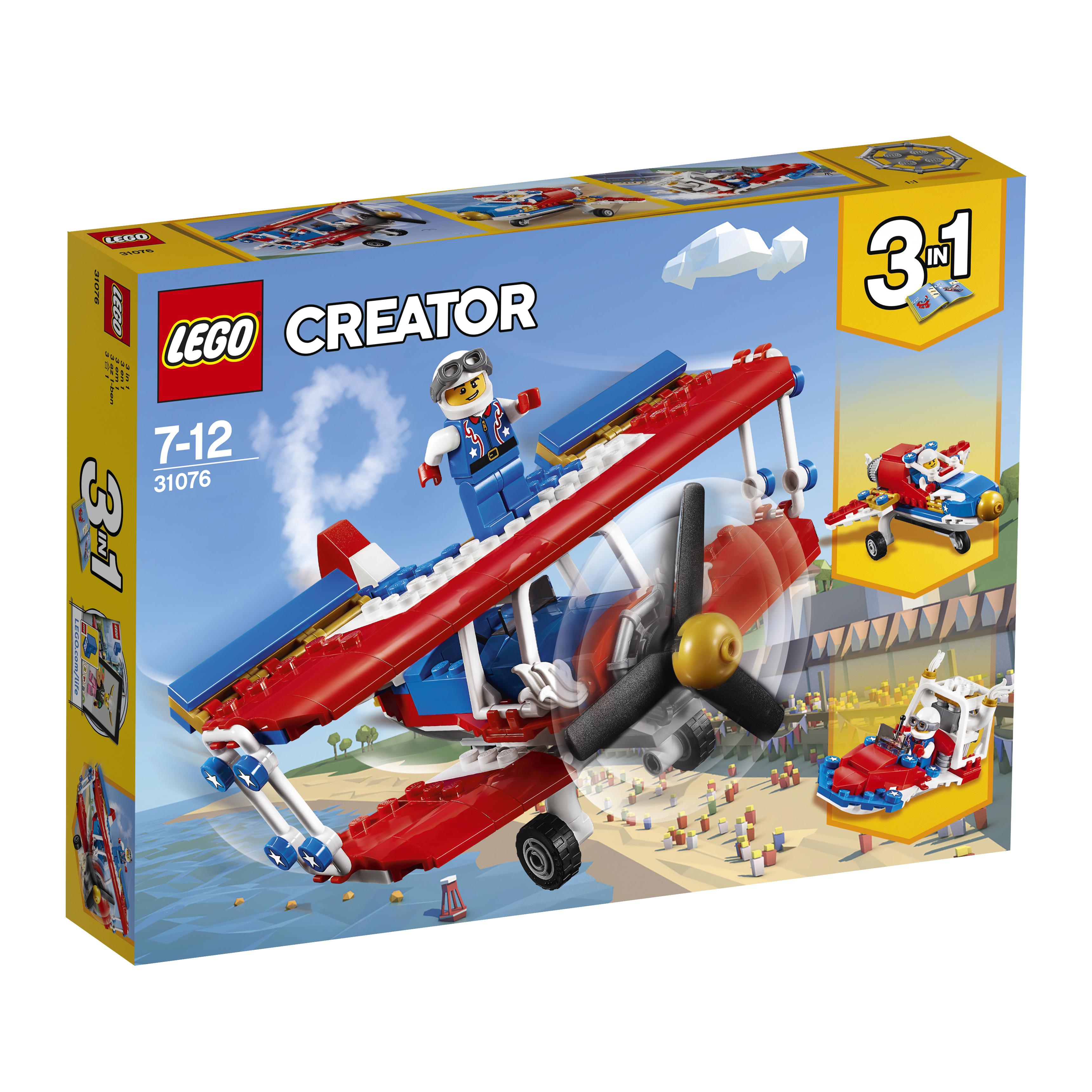 LEGO LEGO Creator 31076 Самолёт для крутых трюков lego creator 31040 гонки в пустыне