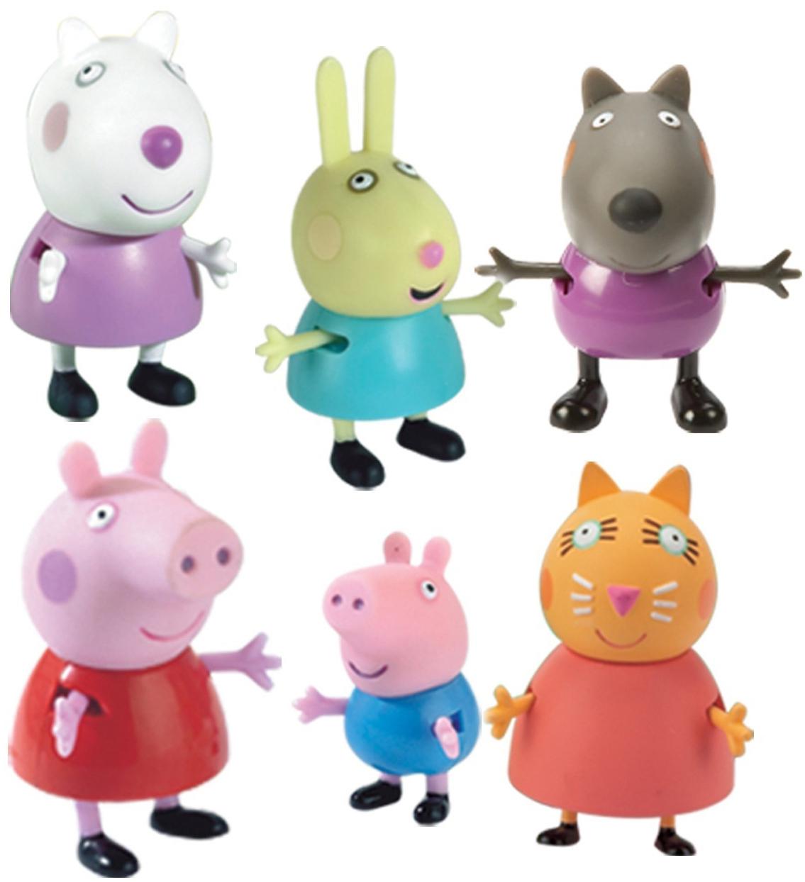 Фото - Игровой набор Peppa Pig Пеппа и друзья игровой набор peppa pig пеппа и сьюзи 2 предмета 28816