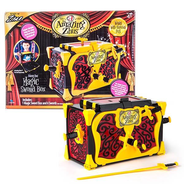 Игровой набор Amazing Zhus Ящик для фокуса с мечами amazing zhus amazing zhus игровой набор amazing zhus ящик для фокуса с мечами