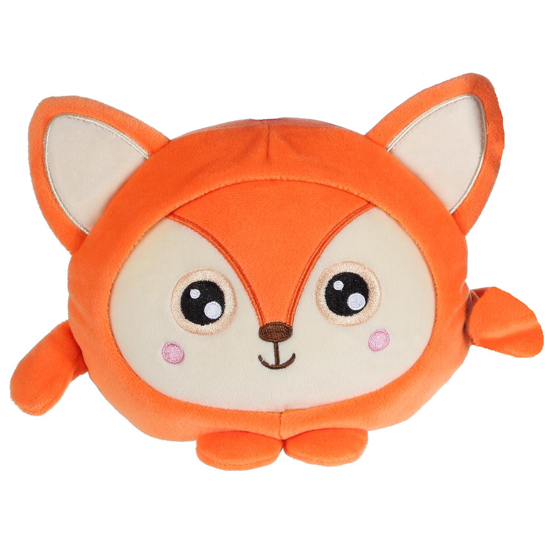 Мягкая игрушка 1toy Плюш. Рыжая лиса» 20 см пенал brauberg рыжая лиса 20 13 см