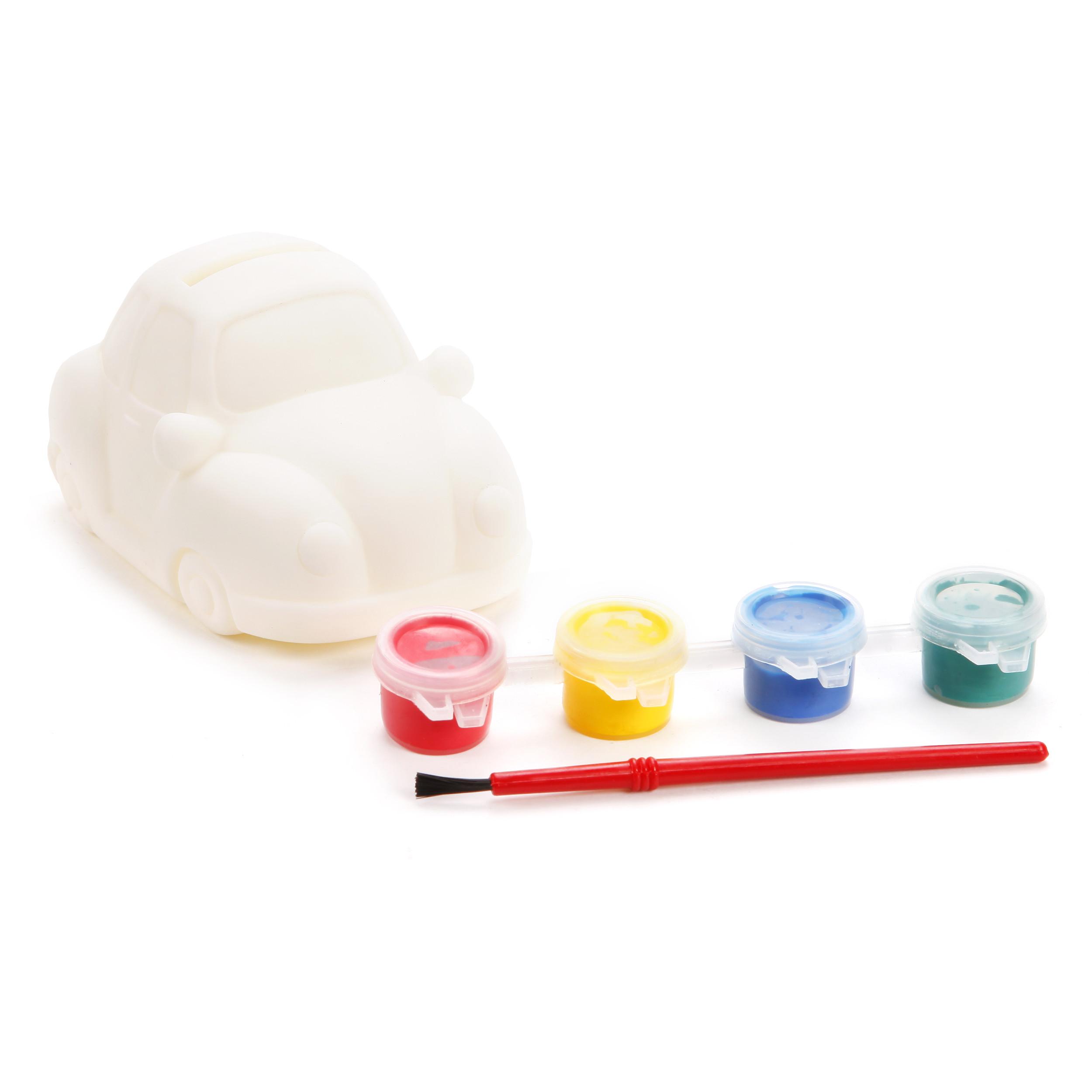 Наборы для творчества Color Puppy Роспись копилки. Машинка наборы для творчества color puppy набор для творчества гравюра цветная