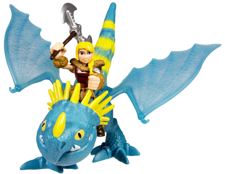 Фигурки Dragons Дракон и всадник