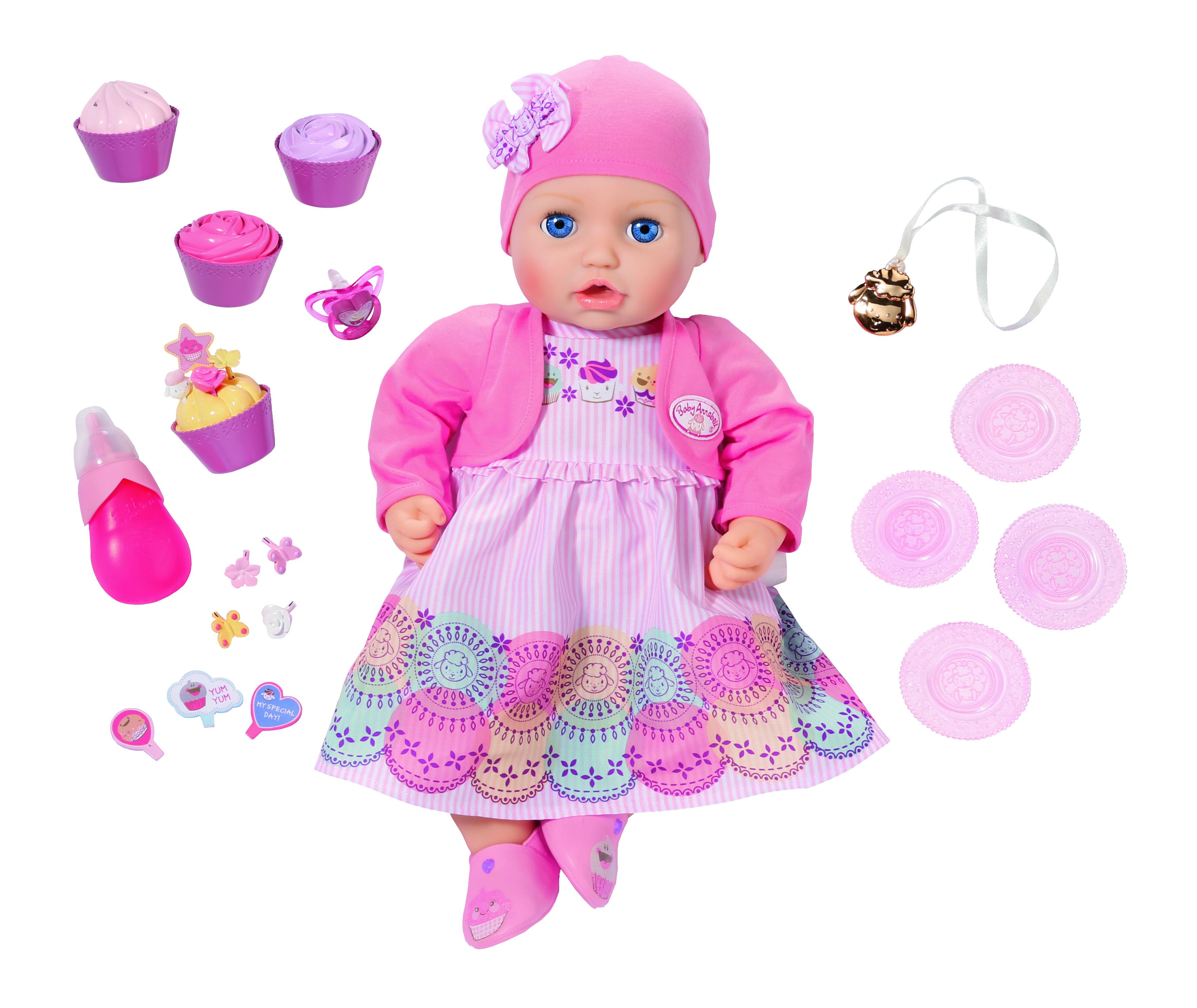 Другие куклы Zapf Creation Кукла многофункциональная Zapf Creation Baby Annabell «Праздничная» 43 см zapf creation нижнее белье белый baby annabell