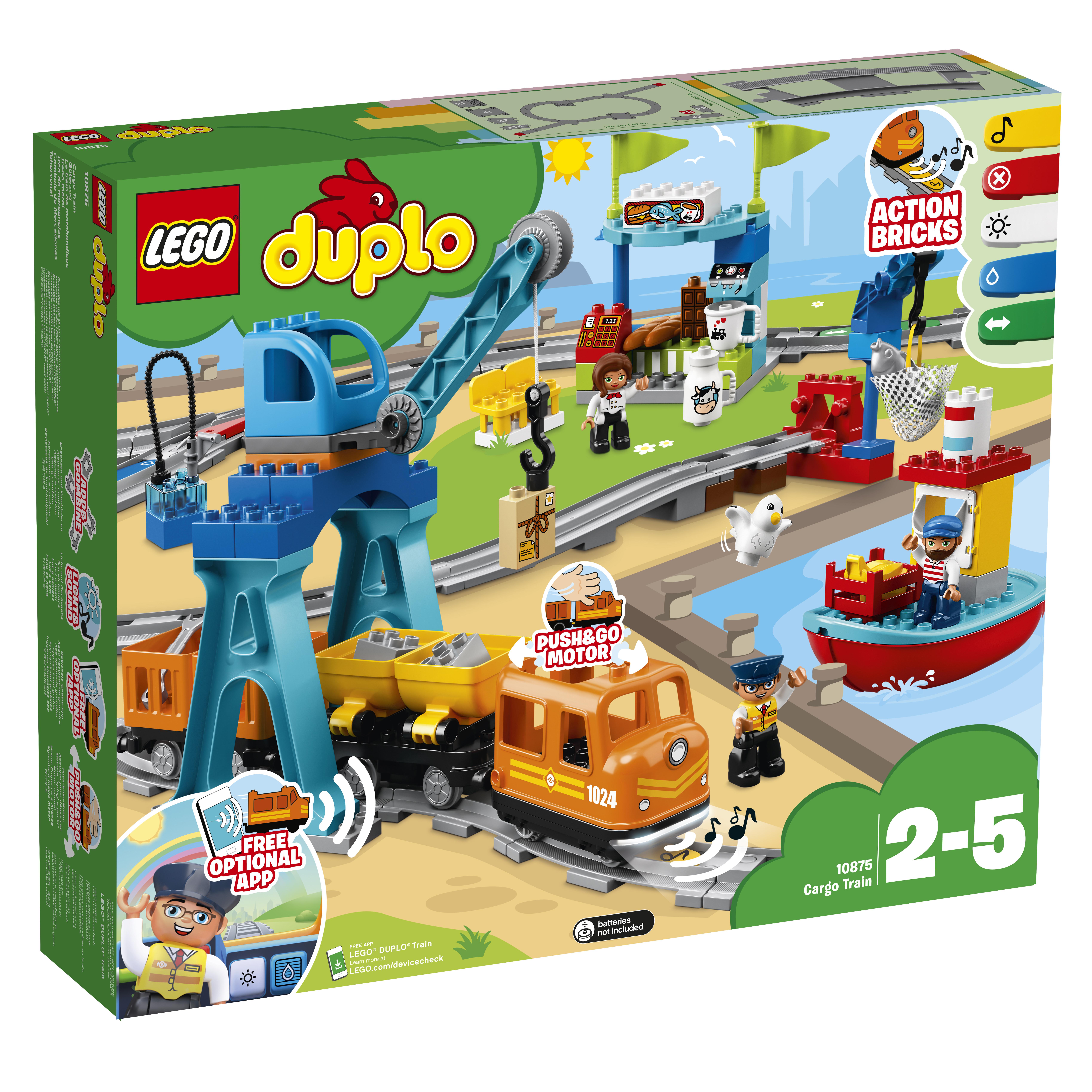 LEGO DUPLO LEGO Конструктор LEGO DUPLO Town 0 10875 lego 31035