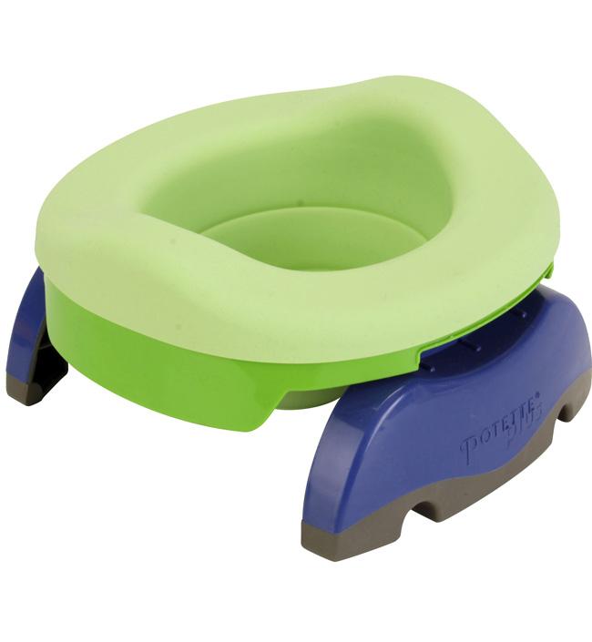 Детские горшки Potette Plus Дорожный набор Potette Plus «Комплект 3 в 1» горшки pocketpotty надувной дорожный