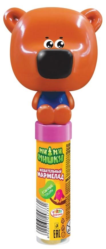 Мармелад Конфитрейд Конфитрейд «Ми-ми-мишки» в сахарной глазури с игрушкой 20 г