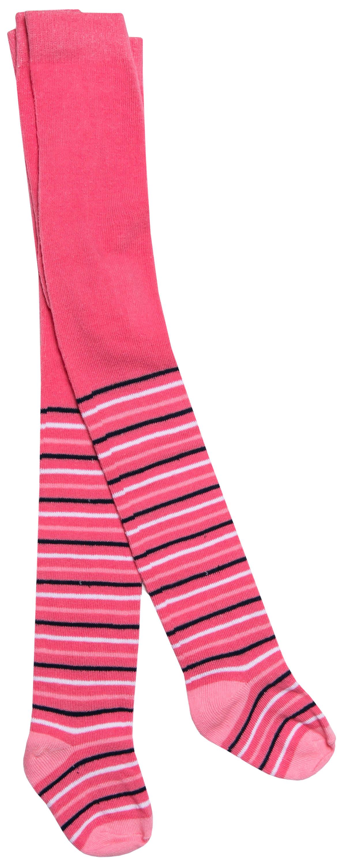 Купить Колготки для девочки Barkito, розовые с рисунком в полоску, Китай, розовый с рисунком в полоску, Женский