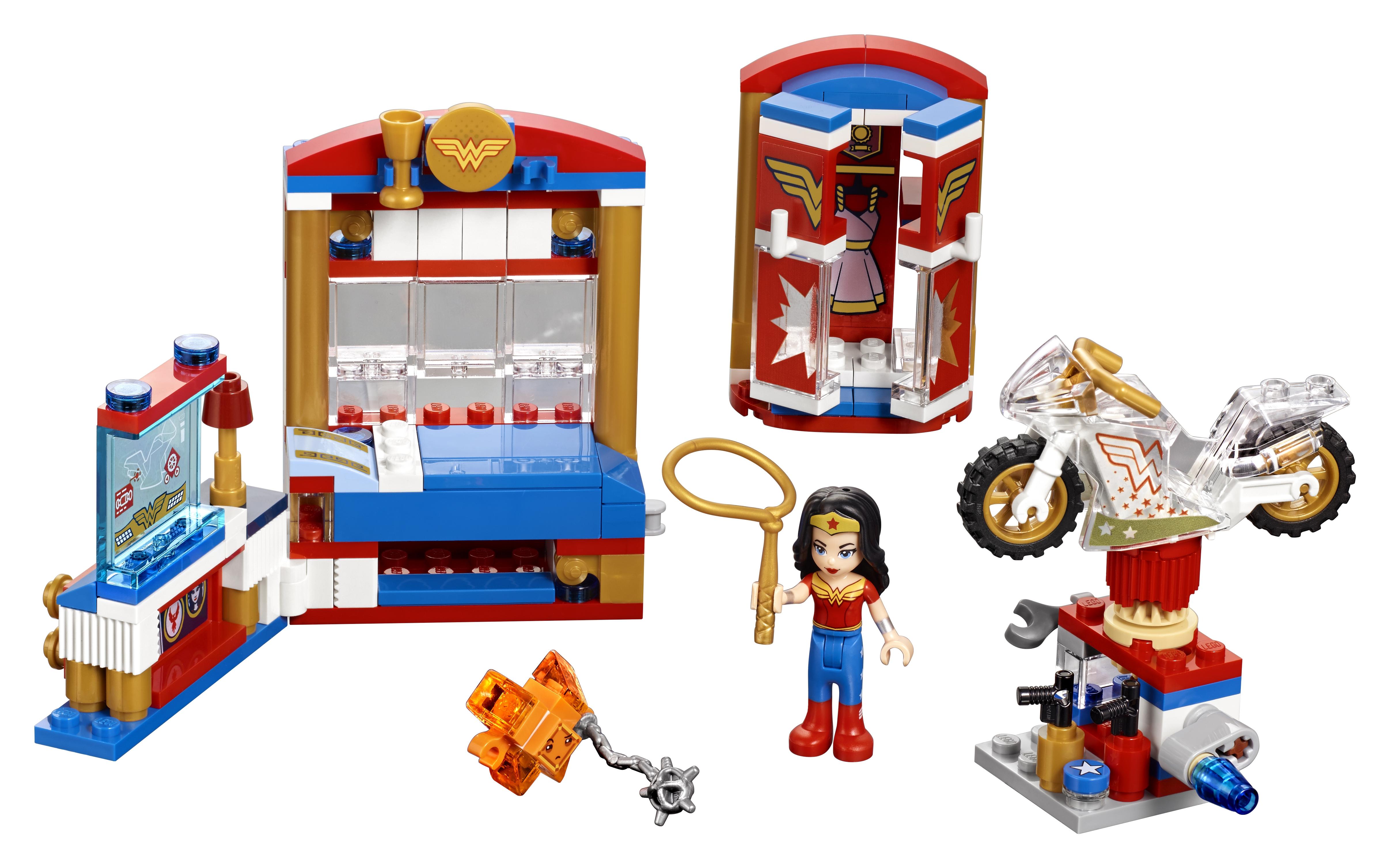 цена на Конструктор LEGO DC Super Hero Girls 41235 Дом Чудо-женщины