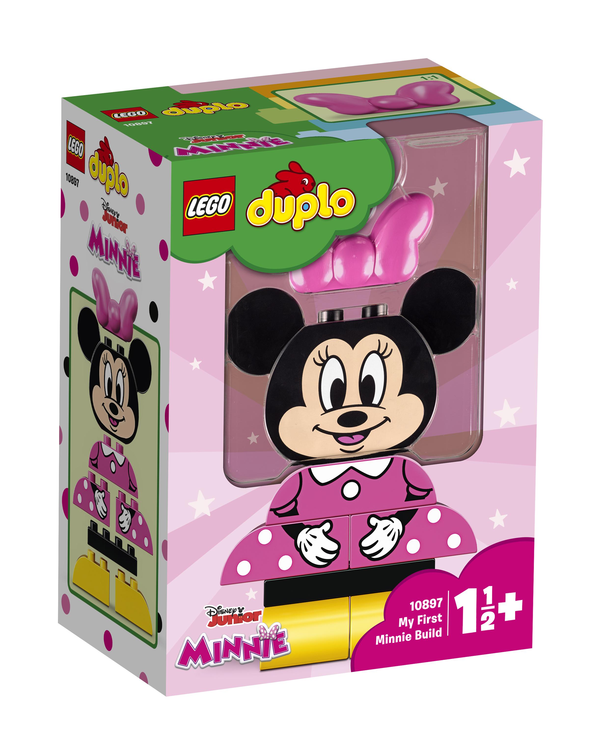 Конструктор LEGO Disney 10897 Моя первая Минни lego lego duplo моя первая карусель