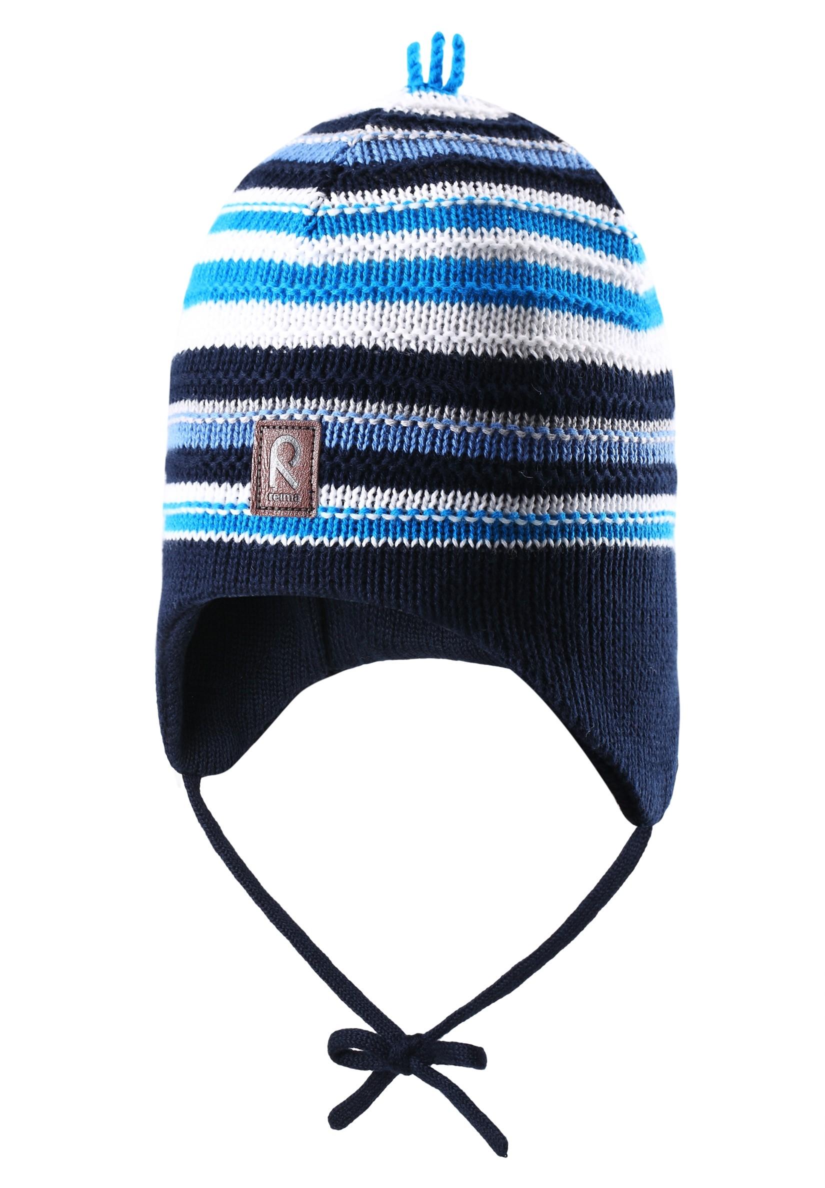 Головные уборы Reima Шапка для мальчика Beanie, Beetroot navy, синяя chaos шапка reverse 026 navy