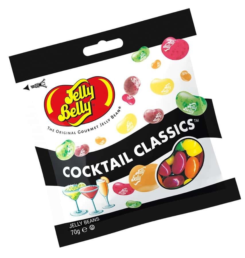Жевательное драже Jelly Belly Классические коктейли 70 г