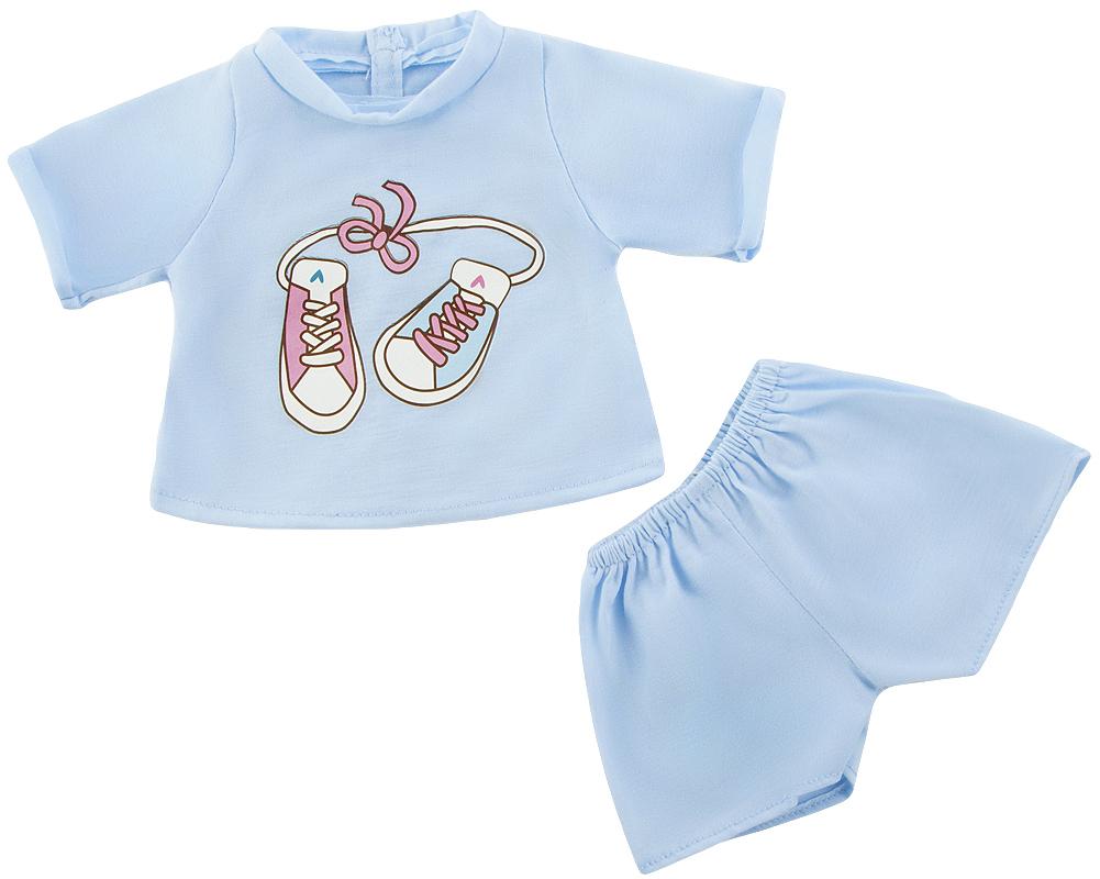 Аксессуары Mary Poppins Футболка и шортики для куклы Mary Poppins игра mary poppins 452061 футболка и шортики