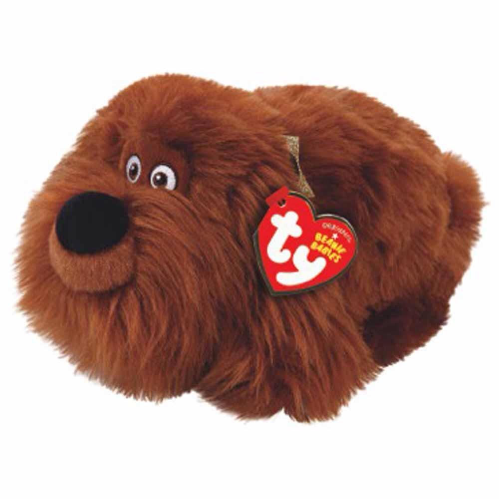 Купить Мягкие игрушки, Дворняжка Дюк, TY, Китай, brown