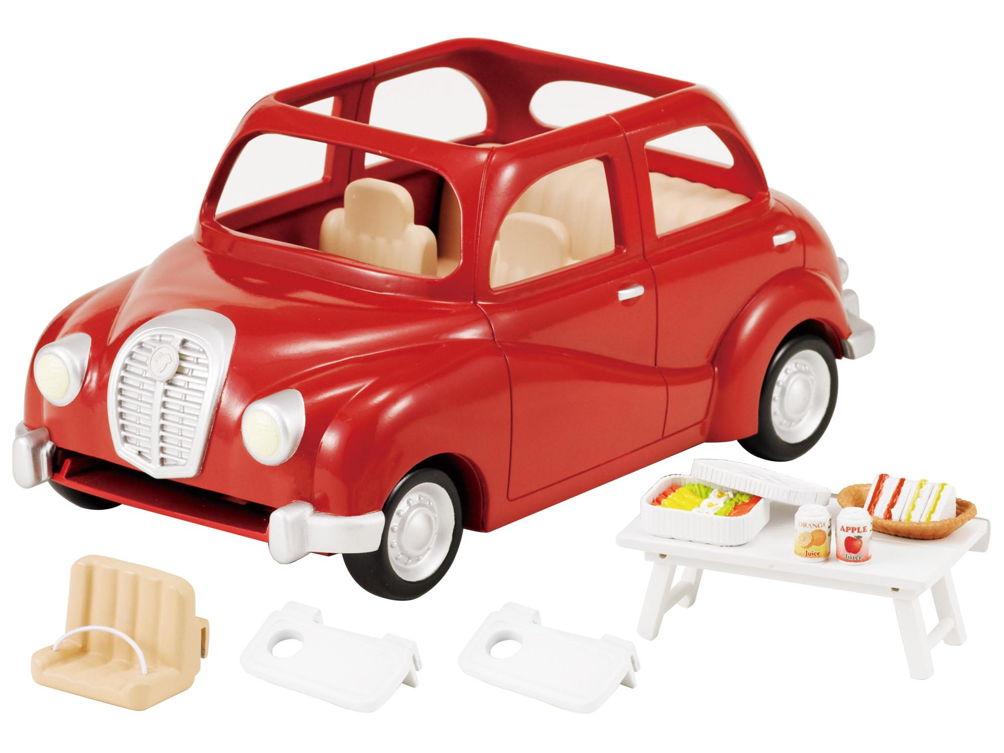 Sylvanian Families SYLVANIAN FAMILIES Семейный автомобиль набор семейный автомобиль красный sylvanian families